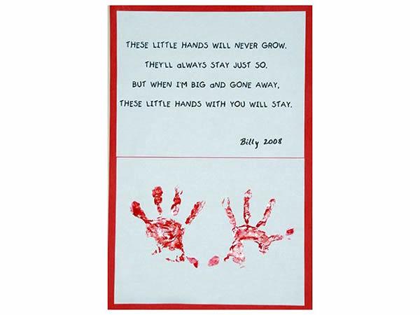 grandparents handprint poems