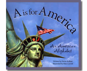 A is for America - Fun Fourth of July Books for Kids