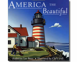 America the Beautiful - Fun Fourth of July Books for Kids