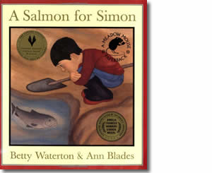 A Salmon for Simon - Alaska Books for Kids