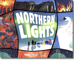 Northern Lights A to Z - Alaska Books for Kids