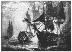 The Fight Between the Bon Homme Richard and the Serapis