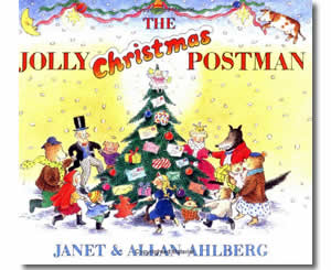 Christmas Books for kids - The Jolly Christmas Postman - A Christmas Story