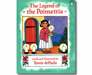 Christmas Books for kids - The Legend of the Poinsettia - A Christmas Story