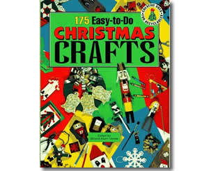 Christmas Books for kids - 175 Easy-To-Do Christmas Crafts