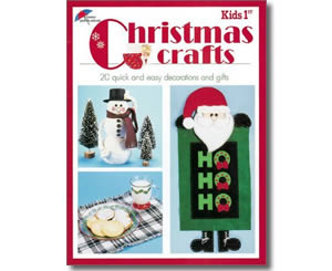 Christmas Books for kids - Kids 1st Christmas Crafts: 20 Quick and Easy Decorations and Gifts