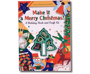 Christmas Books for kids - Make It a Merry Christmas!: A Holiday Book and Craft Kit