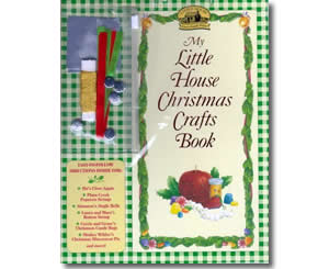 Christmas Books for kids - My Little House Christmas Crafts Book: Christmas Decorations, Gifts, and Recipes from the Little House Books