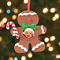 Gingerbread Photo Ornament Craft - Fun Christmas Craft