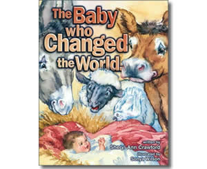 Religious Christian Christmas Books for kids - The Baby Who Changed the World