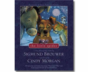 Religious Christian Christmas Books for kids - The Little Spider: A Story About Giving