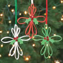 Foam strips cross ornaments