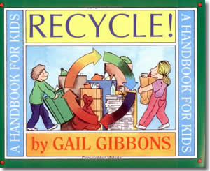 Recycle A Handbook for Kids - Fun Earth Day Books for Kids