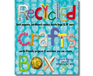 Recycled Crafts Box - Fun Earth Day Books for Kids