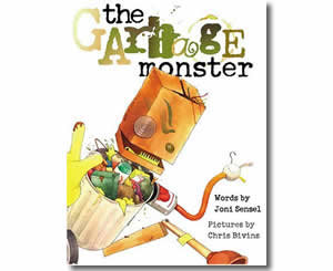 The Garbage Monster - Fun Earth Day Books for Kids