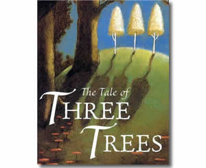 TheTales of Three Trees - Religious Christian Easter Books for Kids