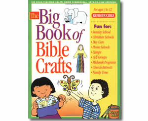 Big Book of Bible Crafts   - Religious Christian Easter Crafts for Kids