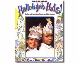 Making Hallelujah Hats   - Religious Christian Easter Crafts for Kids