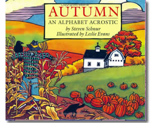 Autumn: An Alphabet Acrostic - Fun Fall Books for Kids