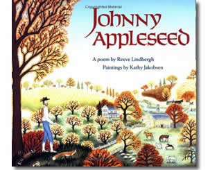 Johnny Appleseed - Fun Fall Books for Kids