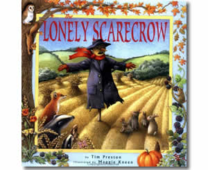 TThe Lonely Scarecrow - Fun Fall Books for Kids