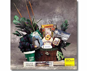 Father's Day Gift Baskets - Fishing Basket for Dad
