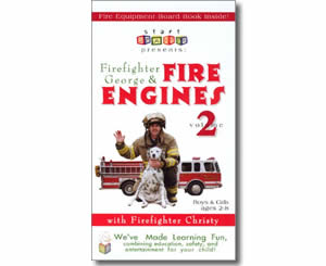 Firefighter George & Fire Engines, Fire Trucks, and Fire Safety, Volume 2 - Fire Safety Books for Kids