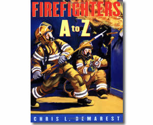 Firefighters A To Z  - Fire Safety Books for Kids