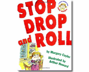 Stop Drop and Roll (A Book about Fire Safety)  - Fire Safety Books for Kids