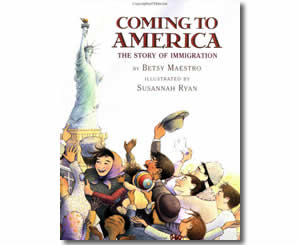 Coming to America - The Story of Immigration - Fun Flag Day Books for Kids