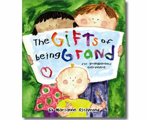 The Gifts of Being Grand - Grandparents Day Books for Kids