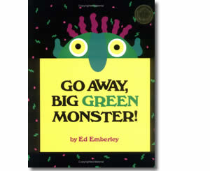Go Away Big Green Monster - Halloween Books for Kids