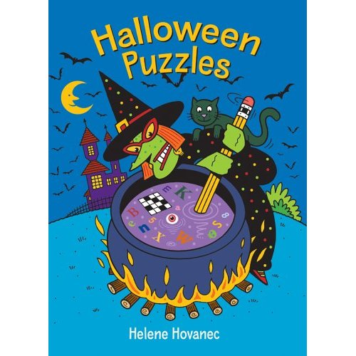 Halloween Puzzles - Halloween Books for Kids