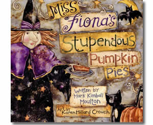 Miss Fiona's Stupendous Pumpkin Pies - Halloween Books for Kids