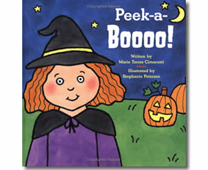 Peek-a-Boooo! - Halloween Books for Kids