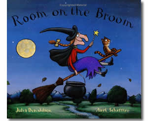 Room on a Broom - Halloween Books for Kids