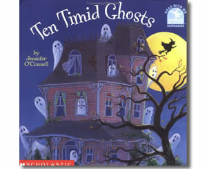 Ten Timid Ghosts - Halloween Books for the Classroom