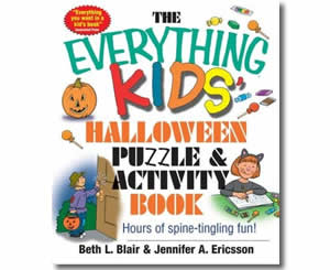 The Everything Kids Halloween Puzzle - Halloween Books for the Classroom