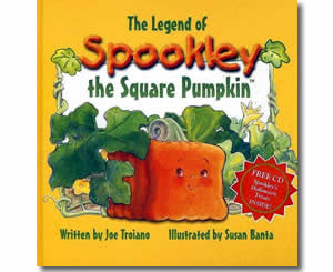 The Legend of Spookley, the Square Pumpkin - Halloween Books for Kids