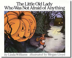 The Little Old Lady Who Was Not Afraid of Anything - Halloween Books for Kids