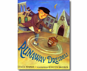 Runaway Dreidel! - Hanukkah Books for Kids