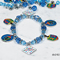 Hanukkah charm bracelet craft kit