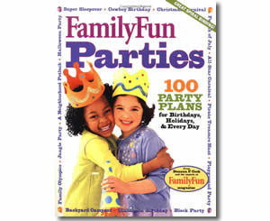 FamilyFun's Parties: 100 Party Plans for Birthdays, Holidays & Every Day - Hanukkah Books for Kids