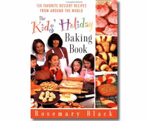 The Kids' Holiday Baking Book: 150 Favorite Dessert Recipes from Around the World - Hanukkah Books for Kids