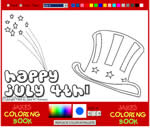 Interactive coloring pages for kids. Free coloring pages to print out.