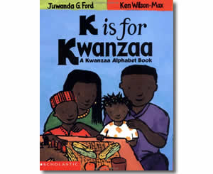 K Is For Kwanzaa - Kwanzaa Books for Kids