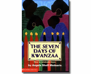 Seven Days Of Kwanzaa - Kwanzaa Books for Kids