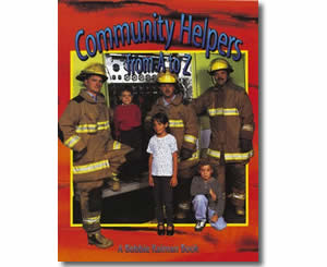 Community Helpers From A to Z - Community Helper Labor Day Books for Kids