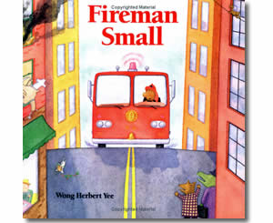 Fireman Small - Community Helper Labor Day Books for Kids