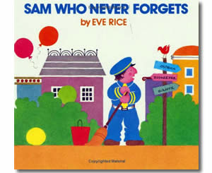 Sam Who Never Forgets - Community Helper Labor Day Books for Kids